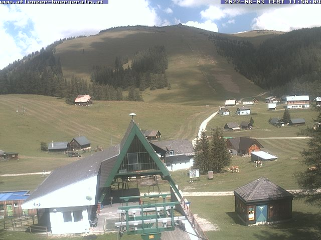 Webcam Aflenzer Bürgeralm